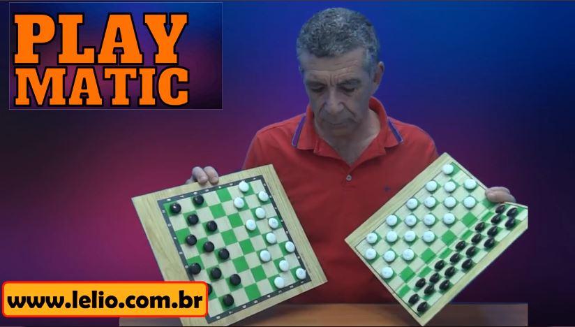 Play Matic o mais lindo tabuleiro de jogo de damas de todo o mundo