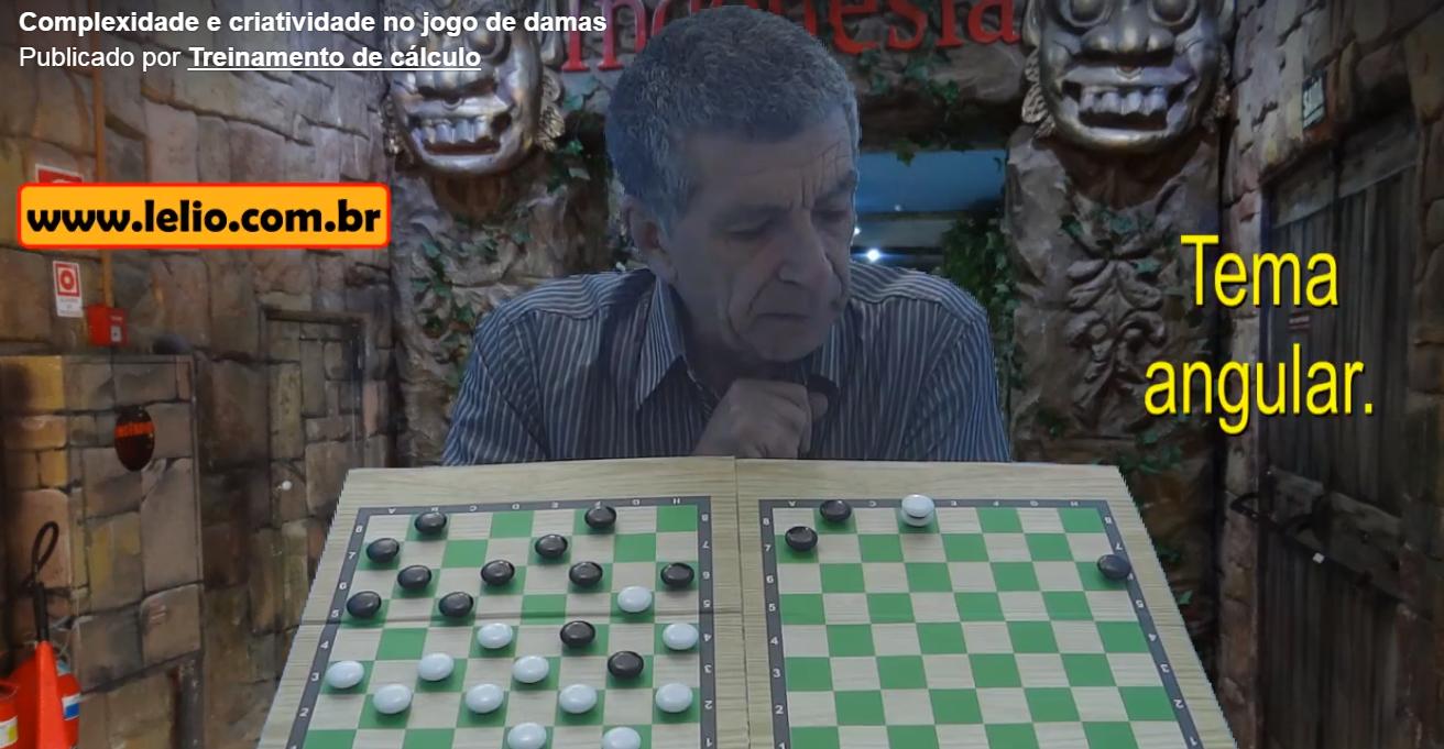 Complexidade e criatividade no jogo de damas